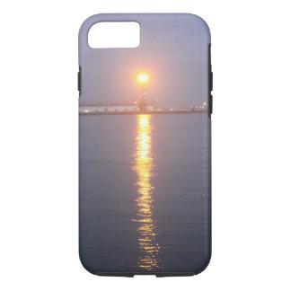 Mississippi River Sunrise Cell phone case