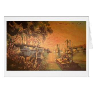 Mississippi River Thank You Card