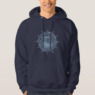 Mississippi River. Travels. Adventure. Discoveries Hoodie