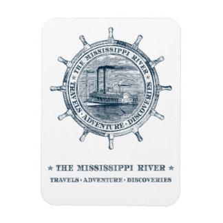Mississippi River. Travels. Adventure. Discoveries Magnet