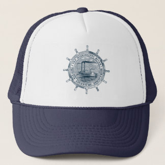 Mississippi River. Travels. Adventure. Discoveries Trucker Hat