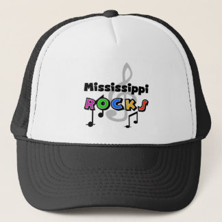 Mississippi Rocks Trucker Hat
