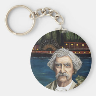 Mississippi Sam Aka Mark Twain Key Ring