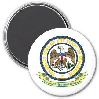 Mississippi Seal Refrigerator Magnets
