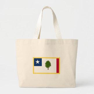 Mississippi  Secession Flag Large Tote Bag