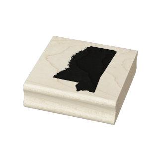 Mississippi Solid Rubber Art Stamp