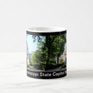 Mississippi State Capitol - Jackson MS Basic White Mug