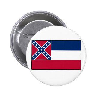 Mississippi State Flag Pins