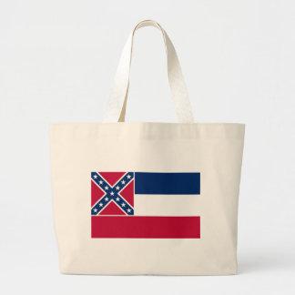Mississippi State Flag Canvas Bag