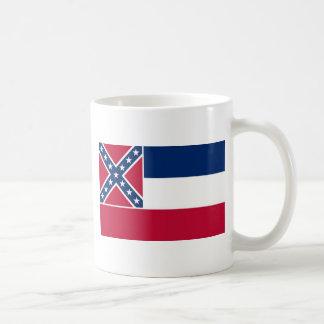 Mississippi State Flag Basic White Mug