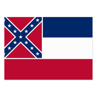 Mississippi State Flag Business Card Template