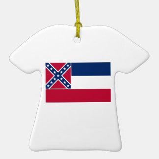 Mississippi State Flag Ornament