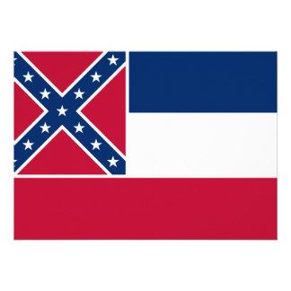 Mississippi State Flag Card