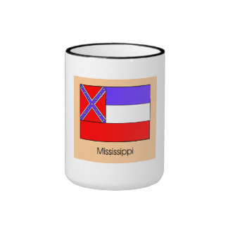 Mississippi State Flag Coffee Mugs