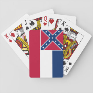 Mississippi State Flag Playing Cards