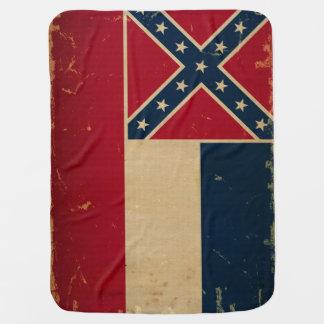 Mississippi State Flag VINTATE.png Buggy Blankets
