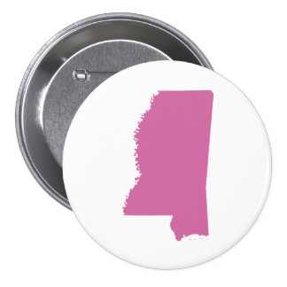 Mississippi State Outline Buttons