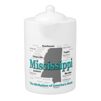 Mississippi State Pride Map Silhouette