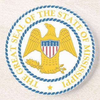 Mississippi State Seal Coaster