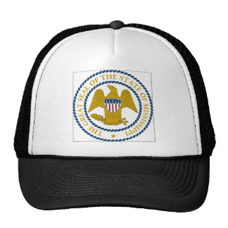 Mississippi State Seal Trucker Hats