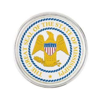 Mississippi State Seal - Lapel Pin
