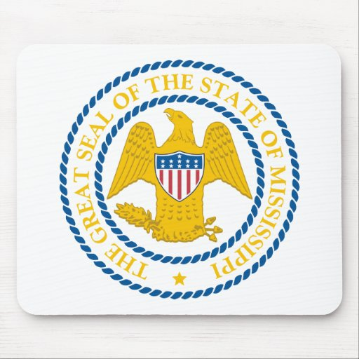 Mississippi State Seal Mousepad