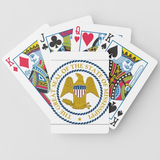 Mississippi State Seal Card Deck
