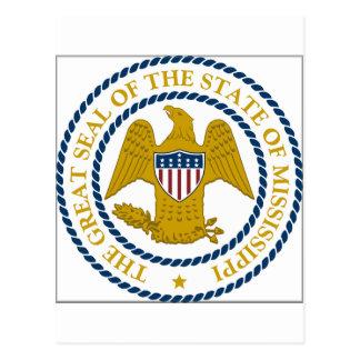 Mississippi State Seal Postcard