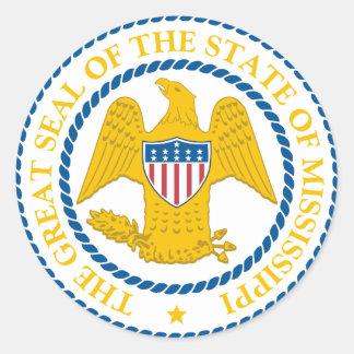 Mississippi State Seal Sticker