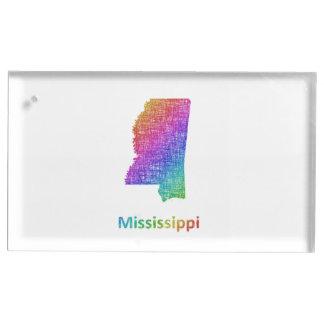 Mississippi Table Card Holder