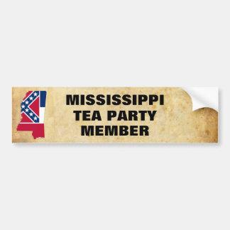 MISSISSIPPI TEA PARTY BUMPER STICKER
