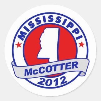 Mississippi Thad McCotter Sticker