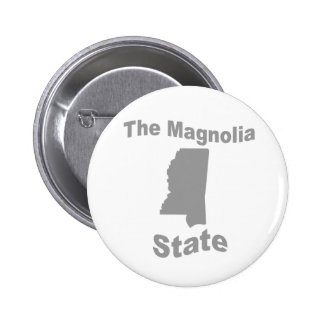 Mississippi: The Magnolia State Buttons