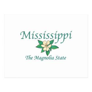 Mississippi The Magnolia State Postcard