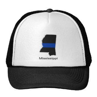 Mississippi Thin Blue Line Trucker Hat