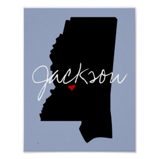 Mississippi Town Poster