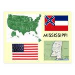 Mississippi USA Post Card