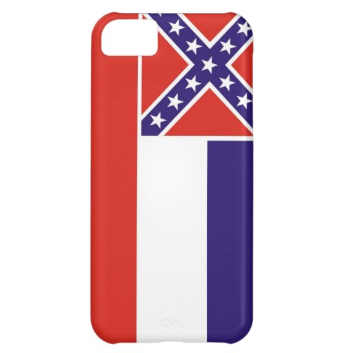 mississippi usa state flag case united america iPhone 5C cases