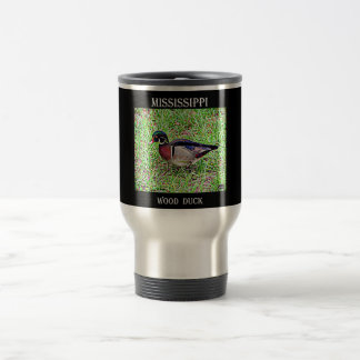 Mississippi Wood Duck Travel Mug