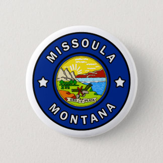 Missoula Montana 6 Cm Round Badge