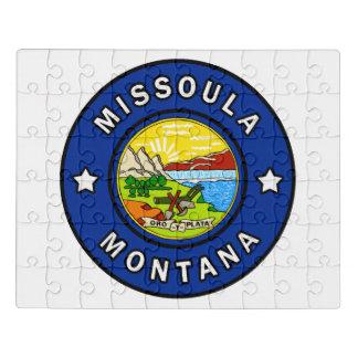 Missoula Montana Jigsaw Puzzle