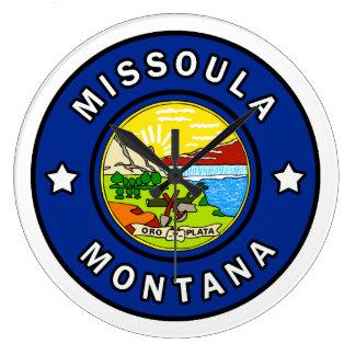 Missoula Montana Large Clock