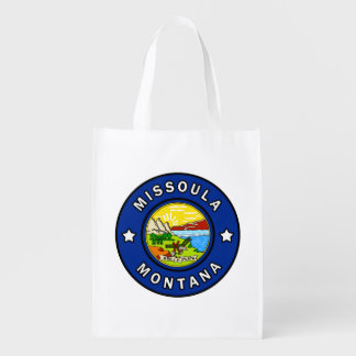 Missoula Montana Reusable Grocery Bag