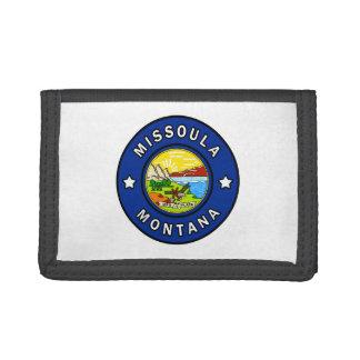 Missoula Montana Tri-fold Wallet