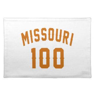 Missouri 100 Birthday Designs Placemat