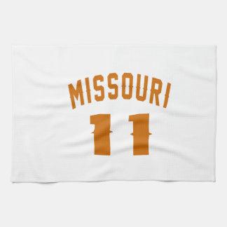 Missouri 11 Birthday Designs Kitchen Towel