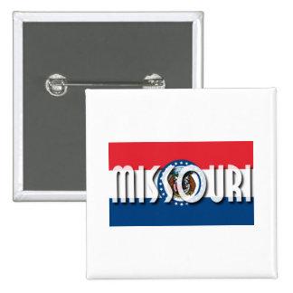 Missouri 15 Cm Square Badge