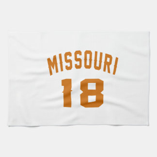 Missouri 18 Birthday Designs Hand Towel
