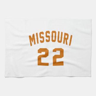 Missouri 22 Birthday Designs Tea Towels