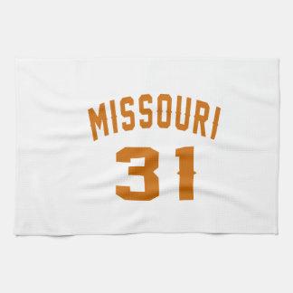 Missouri 31 Birthday Designs Kitchen Towels